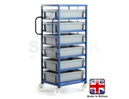 Mobile EURO Tray Racks