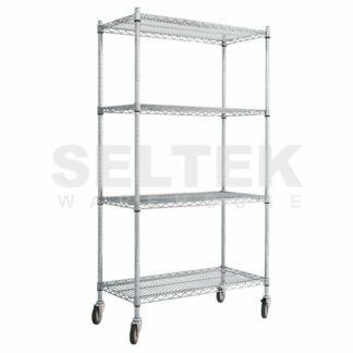 Mobile Wire Shelves - Standard Shelves