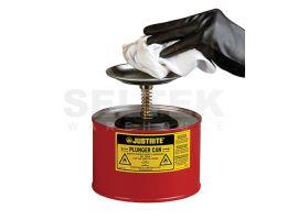 Justrite Liquid Plunger Cans