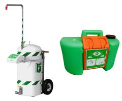 Portable & Mobile Safety Showers