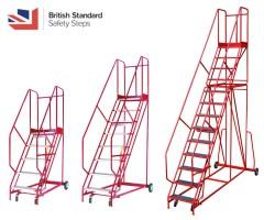 Warehouse Steps - 560mm Treads