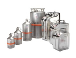 Stainless Steel Cans & Barrels