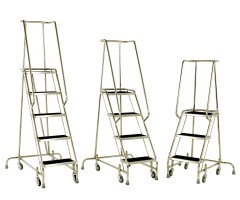 Mobile Stainless Steel Steps